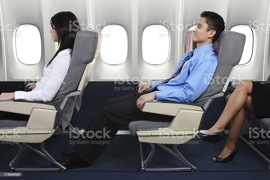 Extra Leg Room royalty-free stock photo