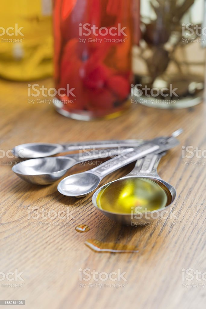 Extra Virgin Olive Oil royalty-free stock photo