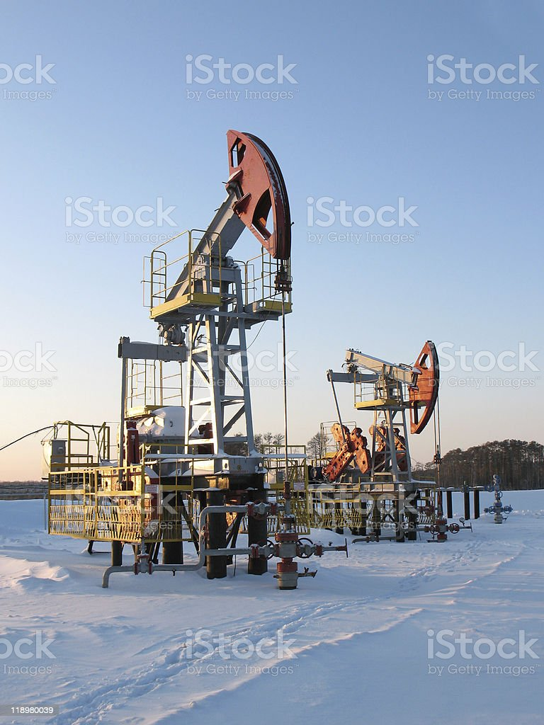 Extraction royalty-free stock photo
