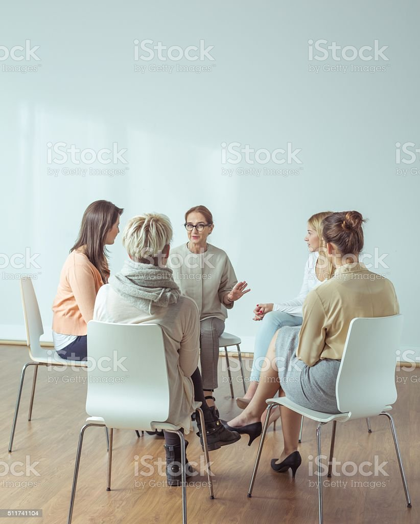 Extracurricular activities for active women stock photo