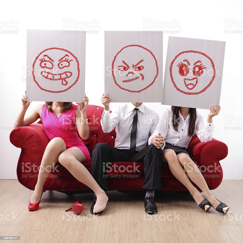 extramarital affair and marital infidelity stock photo