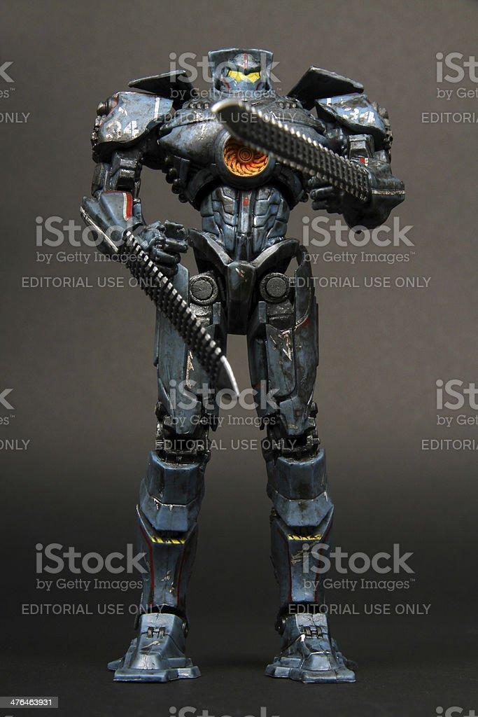 Extraordinary Warrior stock photo
