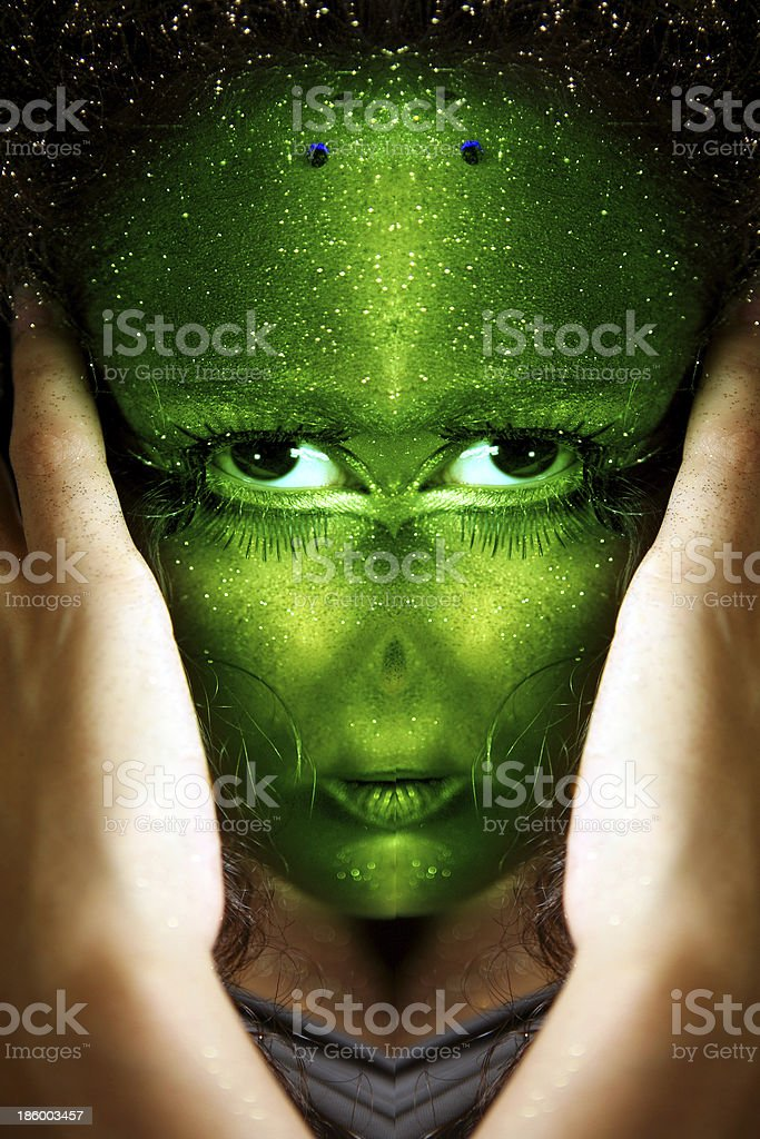 extraterrestre royalty-free stock photo