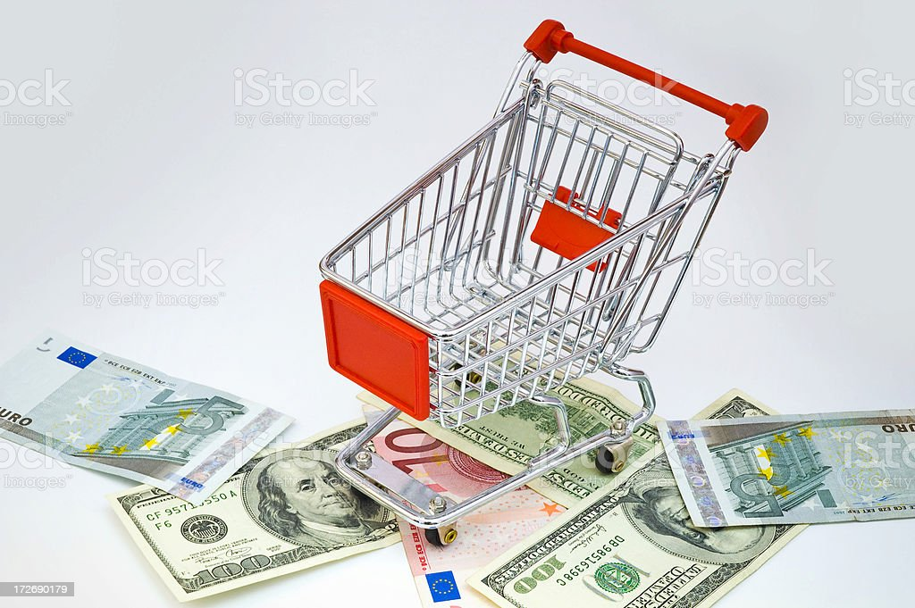 Extravagant Shopping stock photo