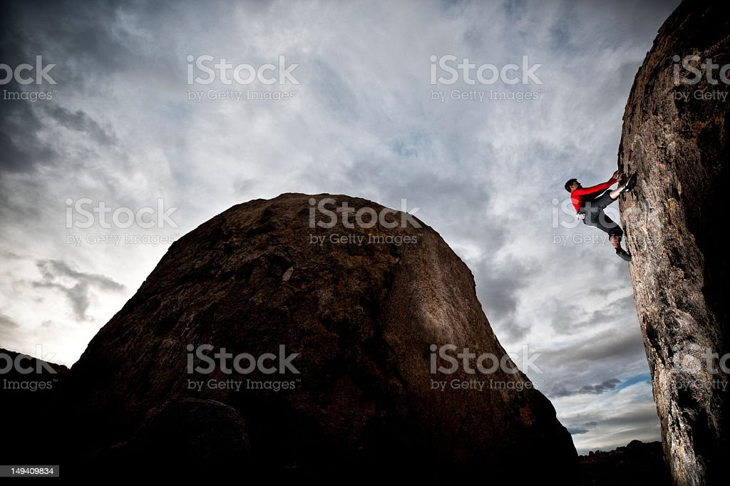 extreme action royalty-free stock photo