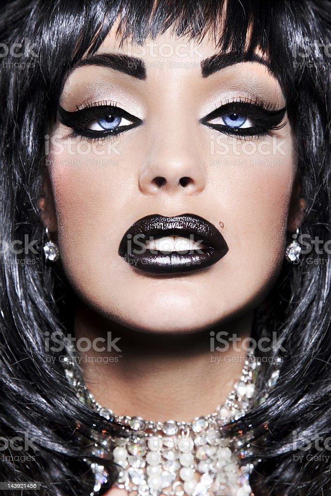 Extreme Beauty Portrait stock photo