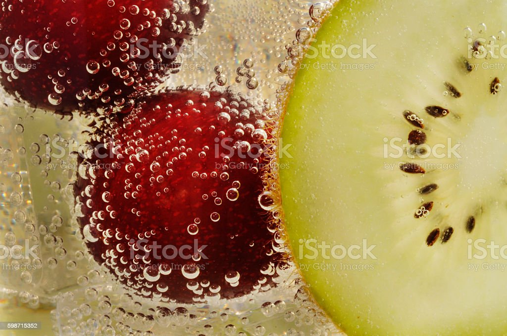 extreme close up drinks stock photo