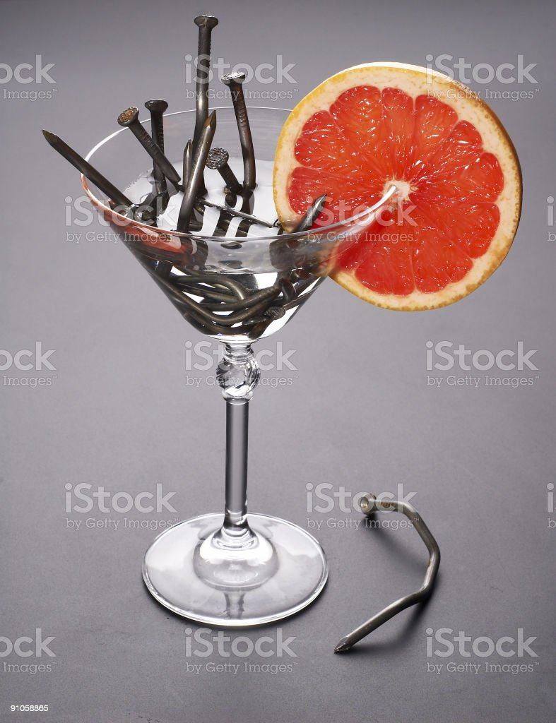 extreme cocktail royalty-free stock photo