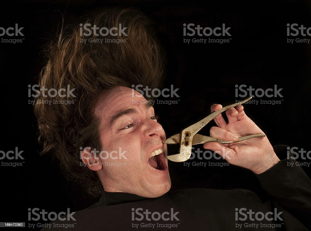 Extreme Dentistry stock photo