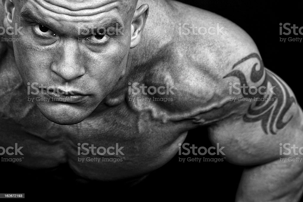 Extreme guy royalty-free stock photo