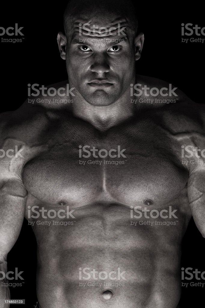 Extreme guy royalty-free stock photo