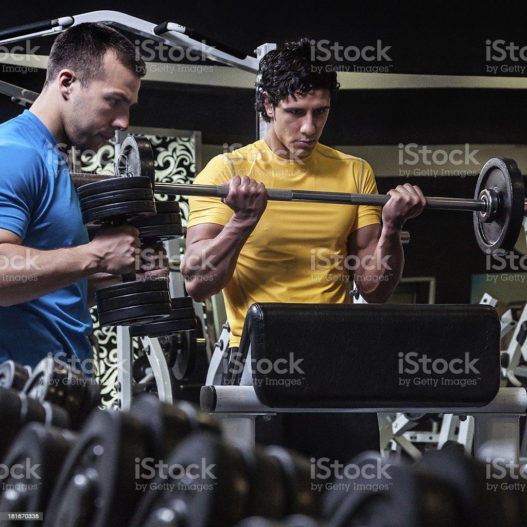 Extreme Gym royalty-free stock photo