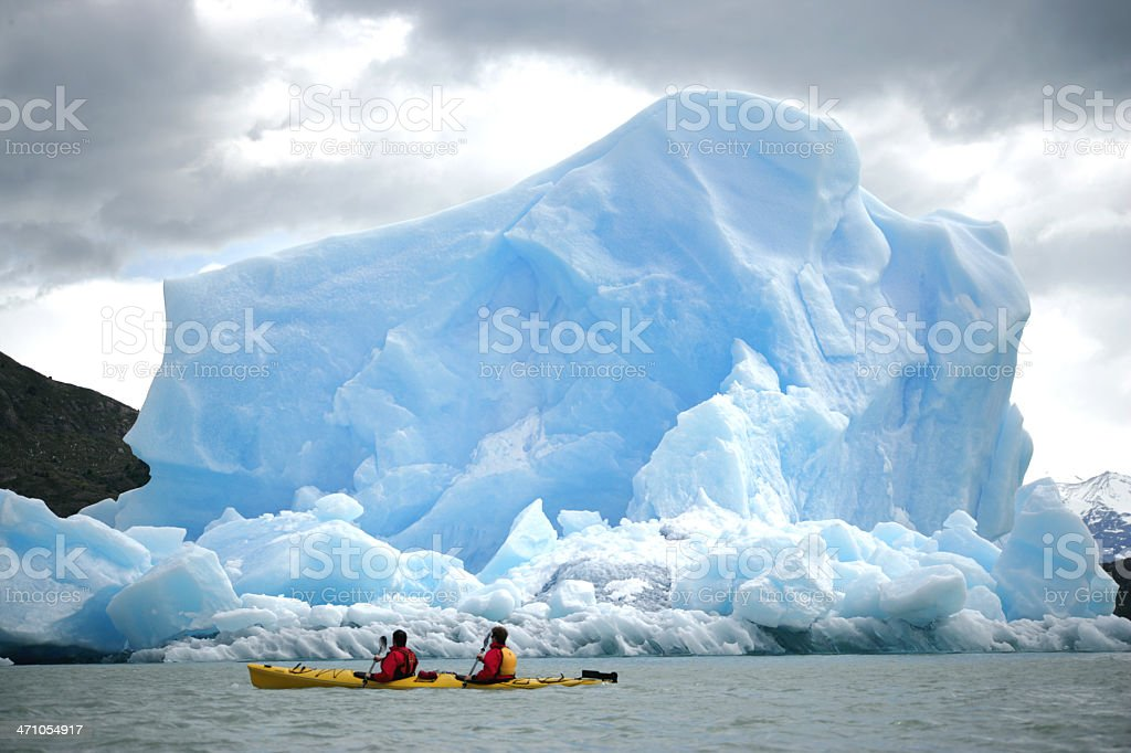 Extreme Kayak 01 stock photo