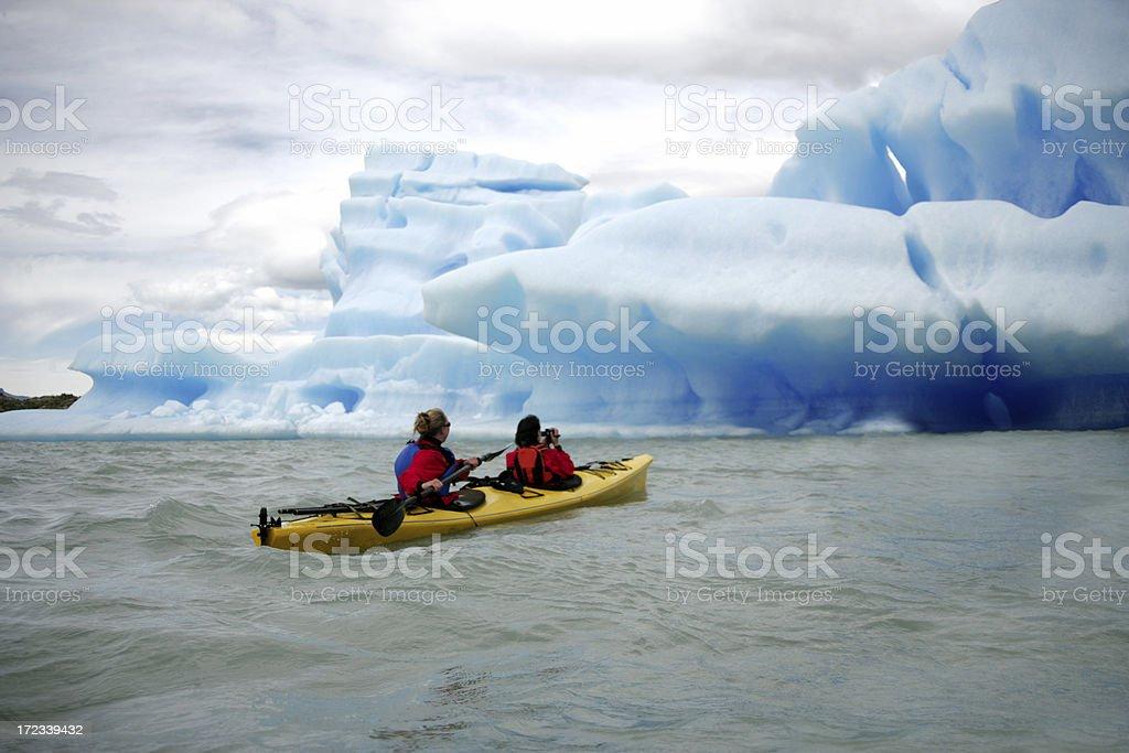 Extreme Kayak royalty-free stock photo