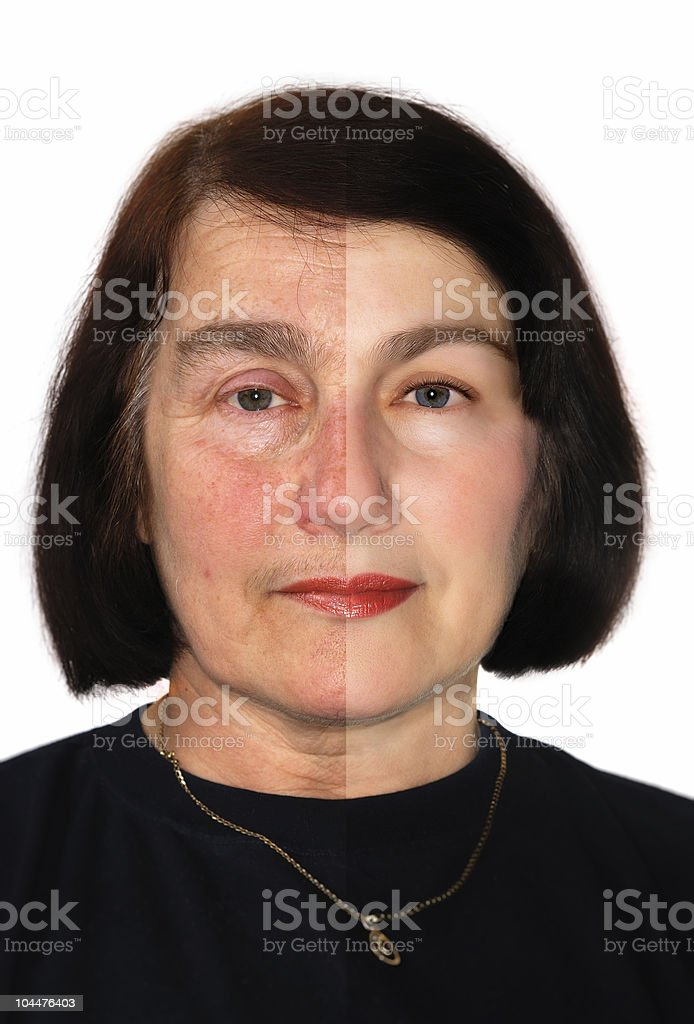 Extreme makeover stock photo