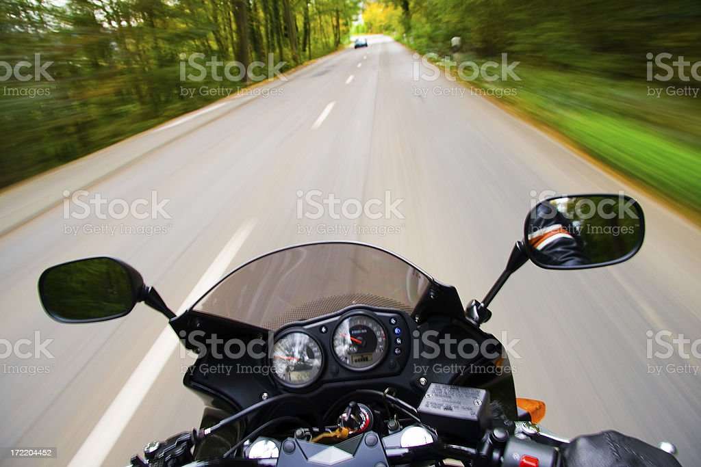 Extreme Motion stock photo
