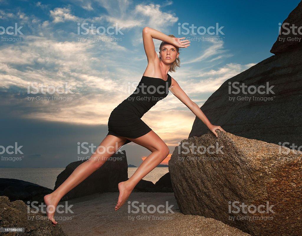 Extreme Posing (XXXL) royalty-free stock photo
