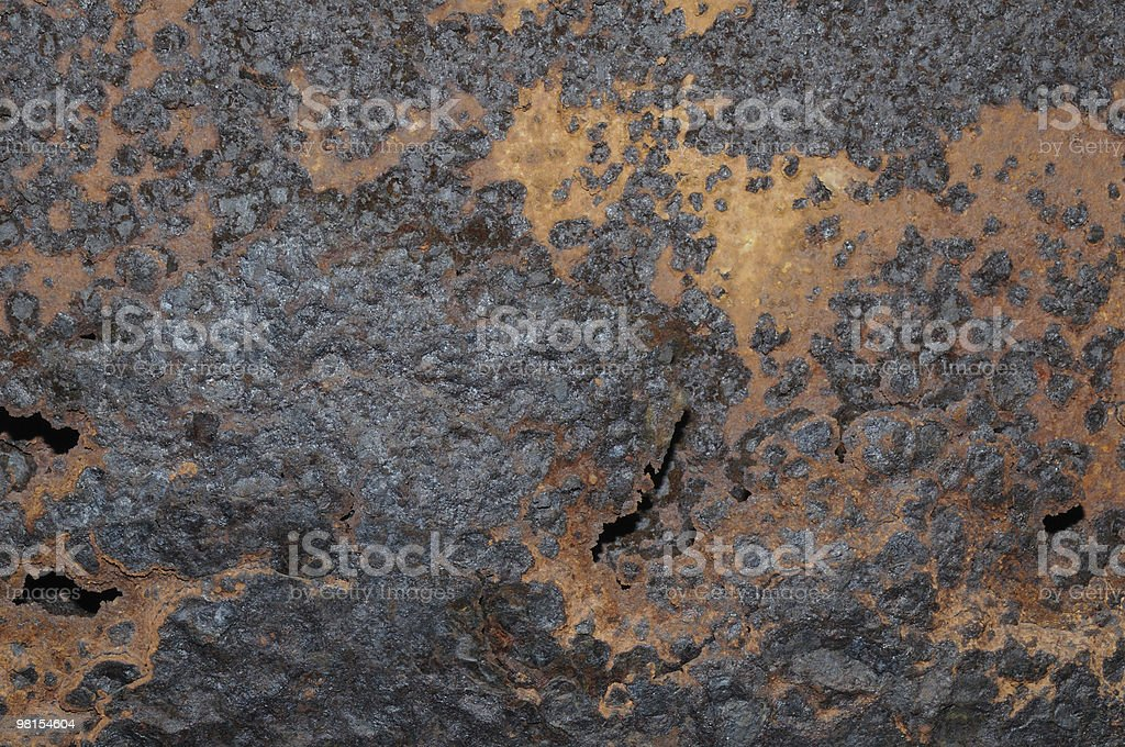Extreme Rust Bridge I Beam stock photo