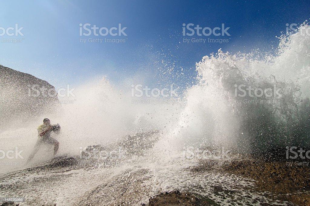 Extreme shot stock photo