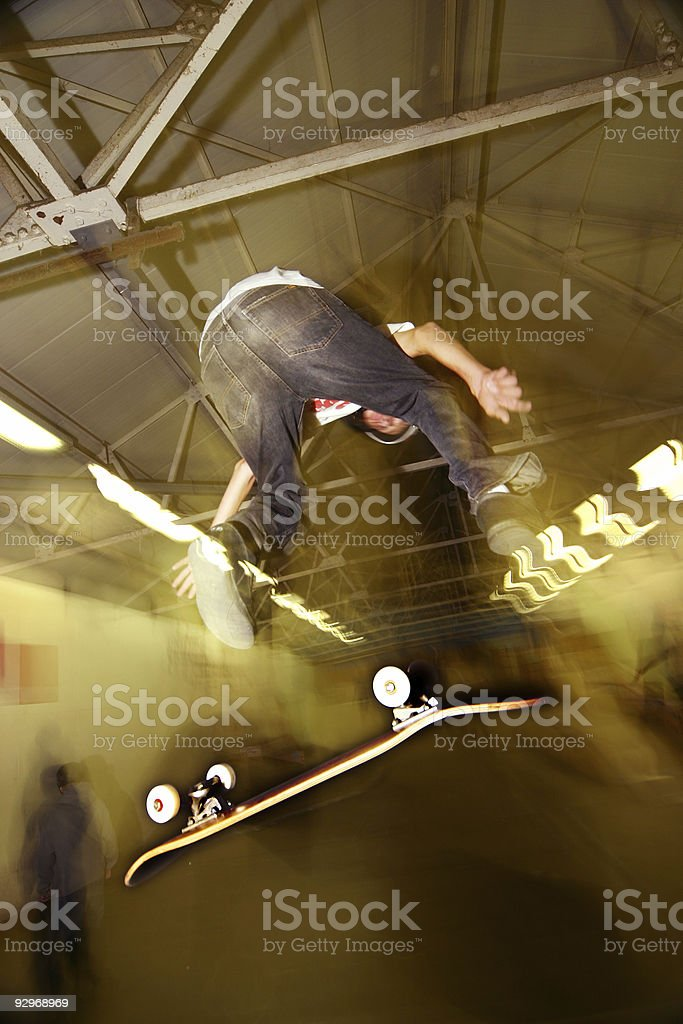 extreme sport royalty-free stock photo