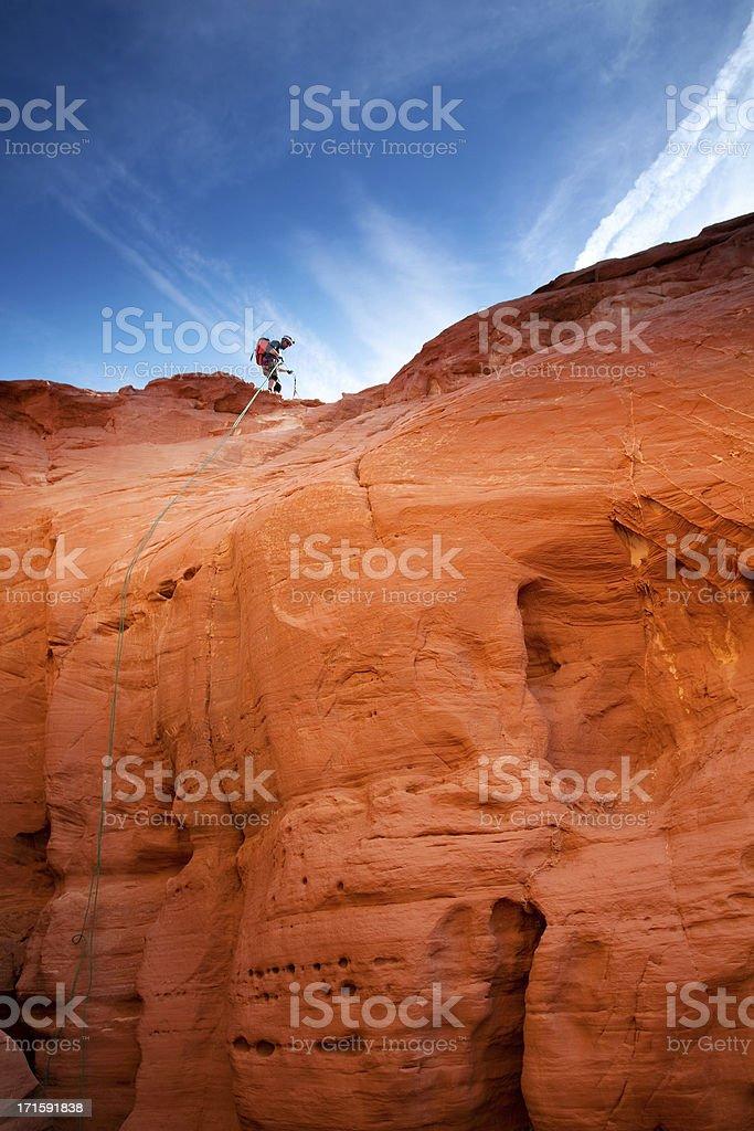 extreme sports landscape stock photo