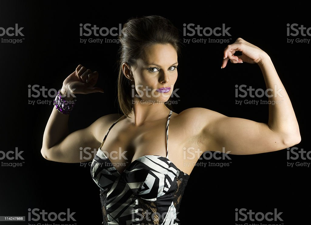 extremely attractive female royalty-free stock photo