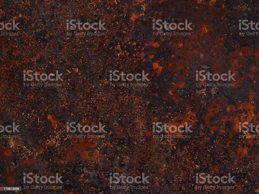 extremely distressed metal surface royalty-free stock photo