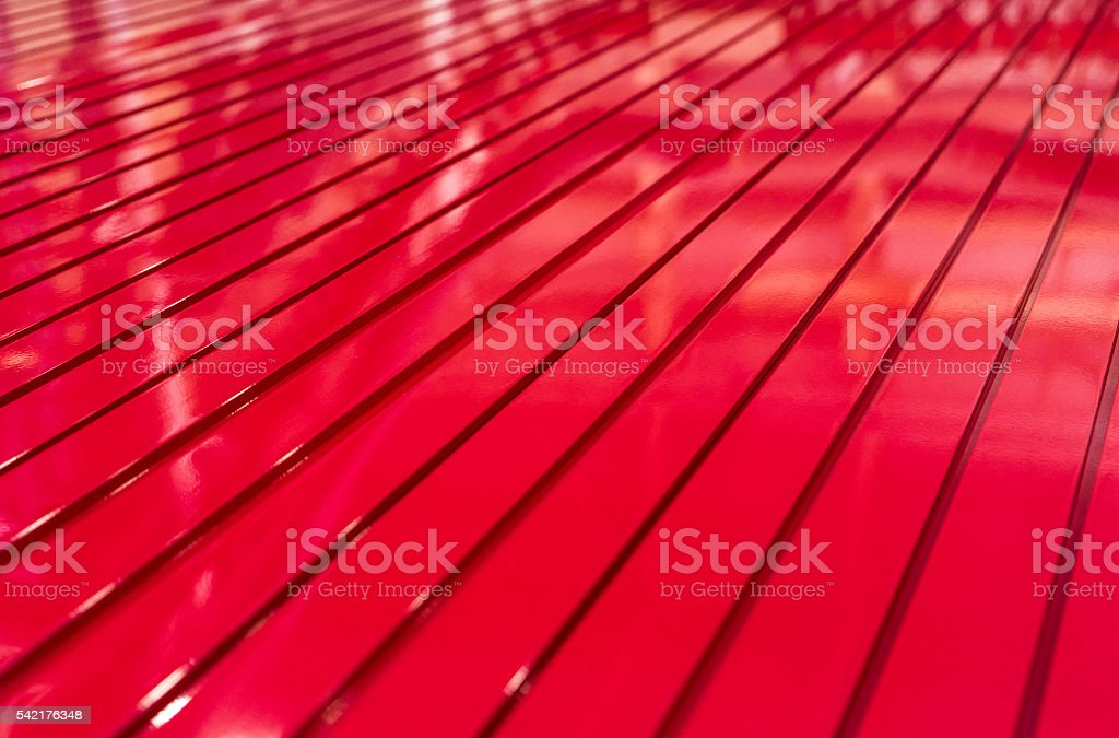 Extruded metal profiles as background stock photo