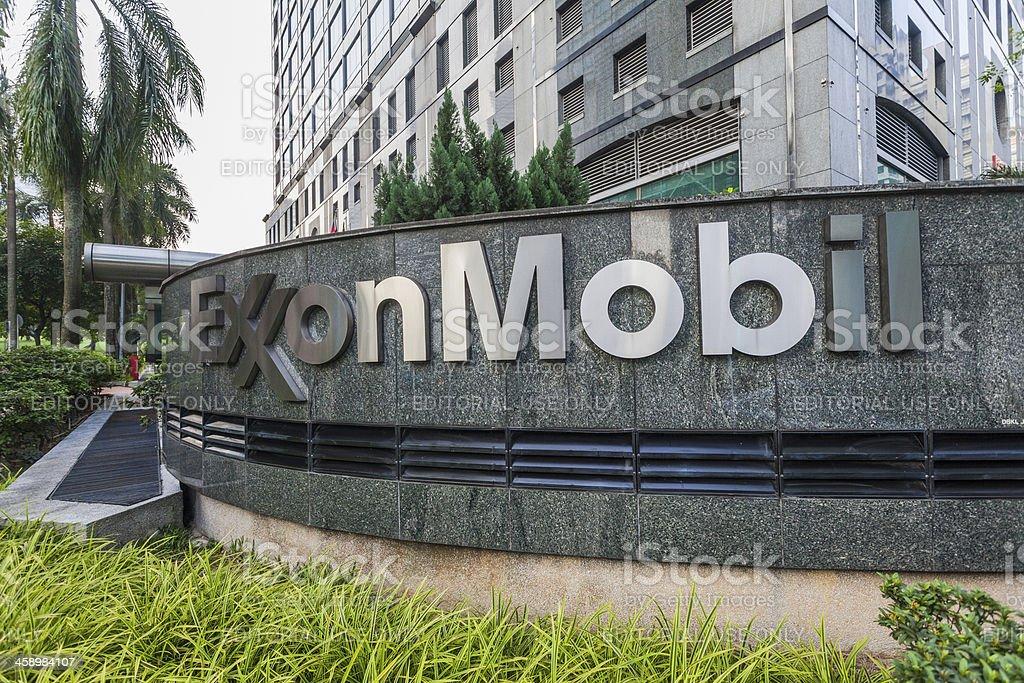 Exxon Mobil Headquater in Kuala Lumpur, Malaysia stock photo