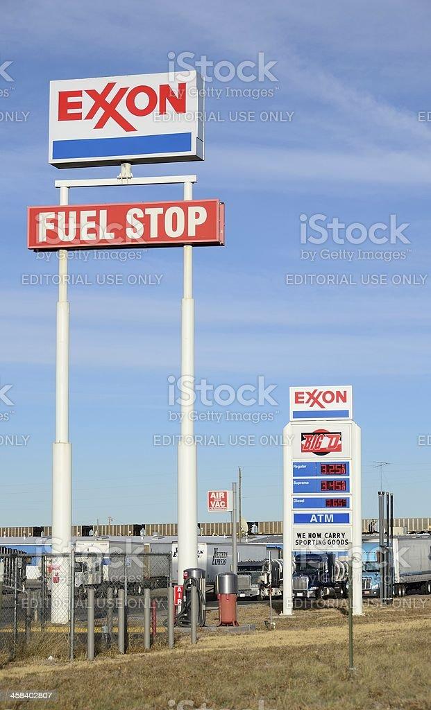 Exxon stock photo