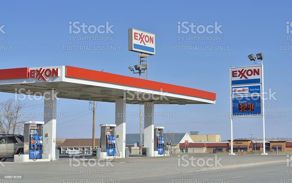 Exxon royalty-free stock photo