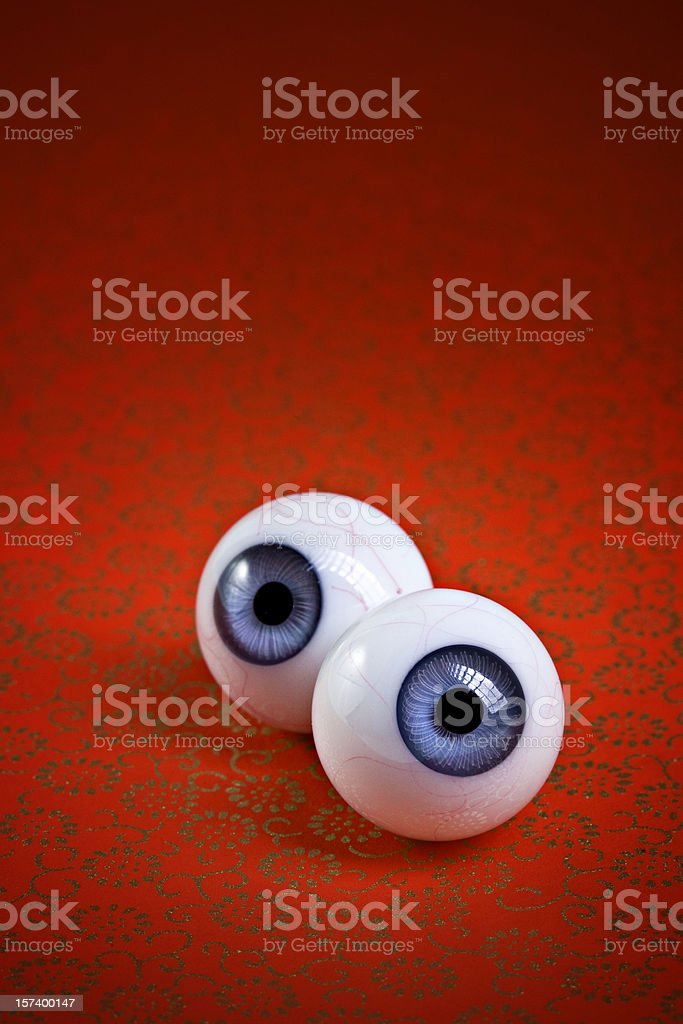 eye ball contact royalty-free stock photo