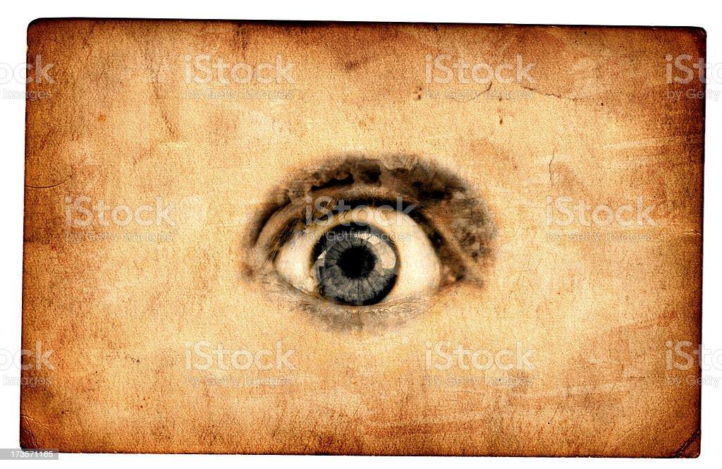 Eye Card royalty-free stock photo