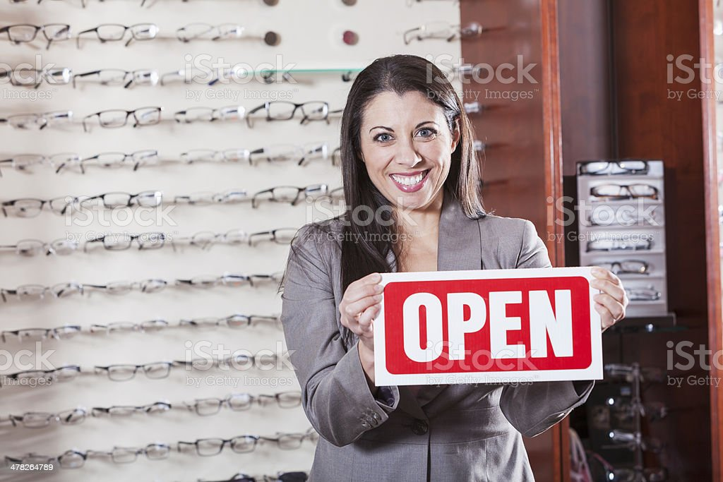 Eye care clinic royalty-free stock photo