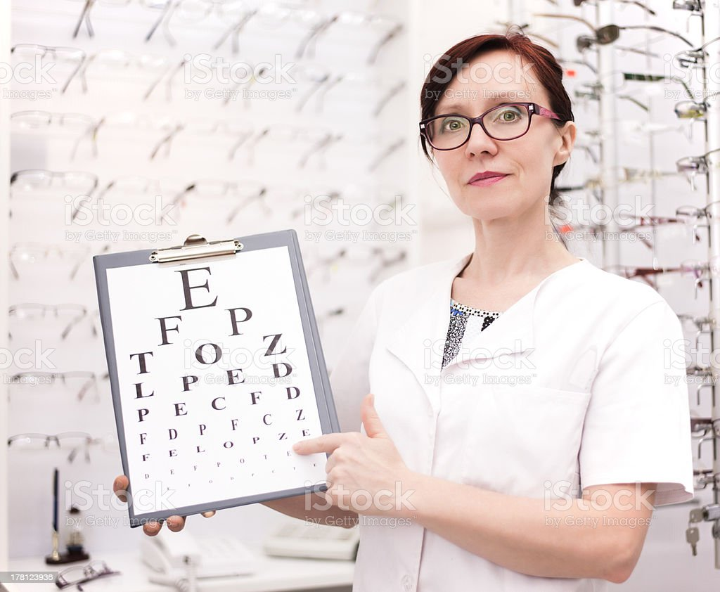 Eye Care stock photo