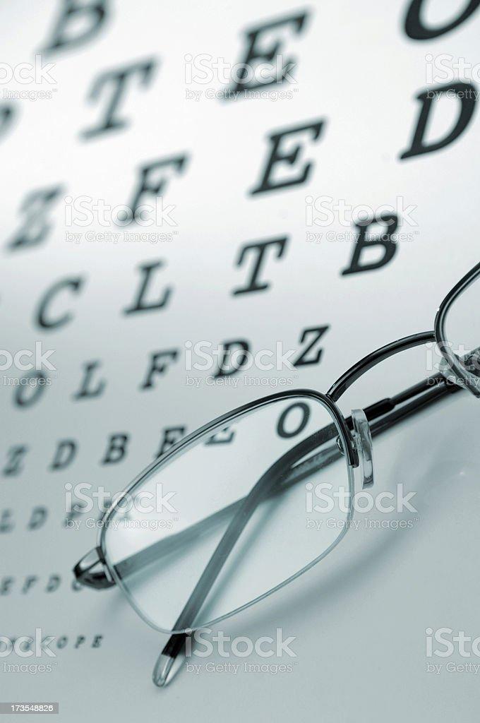 eye chart series royalty-free stock photo