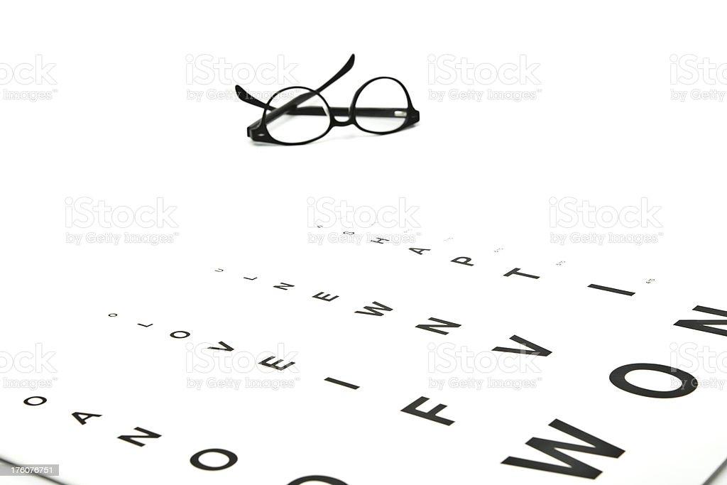 Eye Charts Series royalty-free stock photo