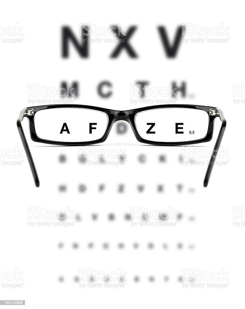 Eye Checkup royalty-free stock photo