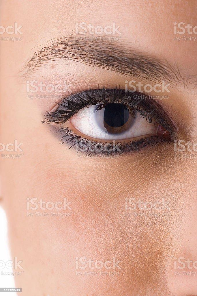 Eye close up 2 royalty-free stock photo