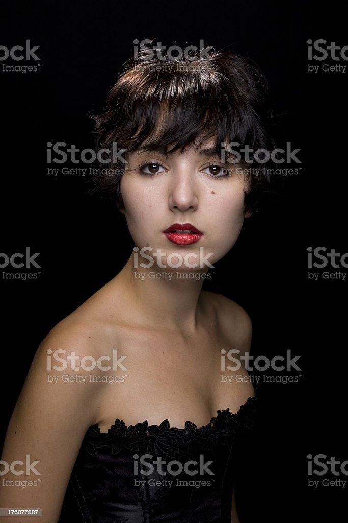 eye contact royalty-free stock photo