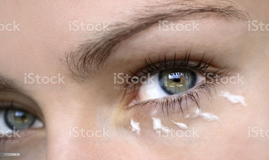 Eye cream stock photo