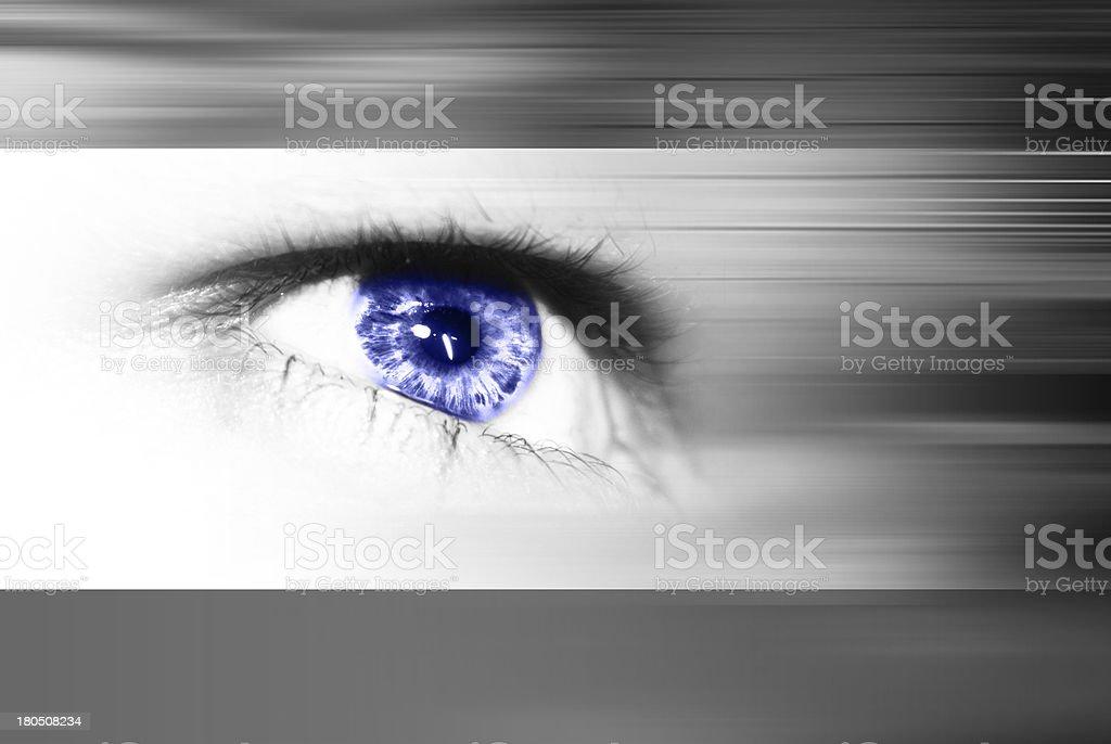 eye design royalty-free stock photo