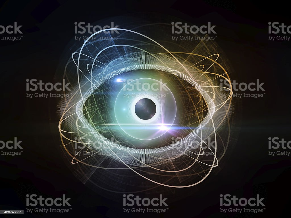 Eye Design stock photo