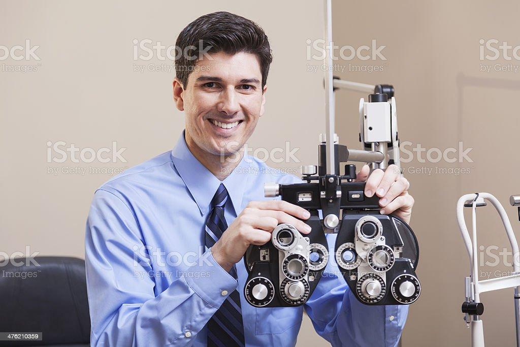 Eye doctor royalty-free stock photo