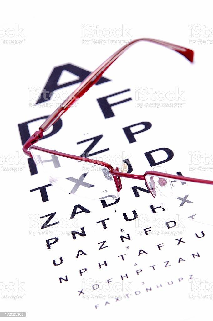 Eye Exam royalty-free stock photo