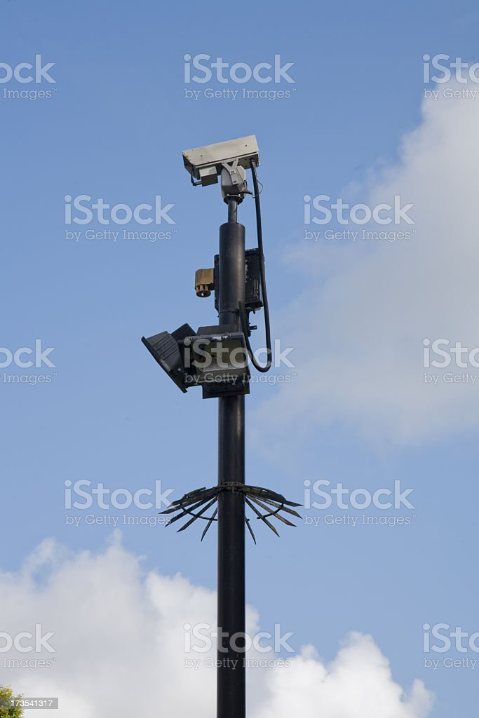 Eye in the Sky=See below for alternative view stock photo