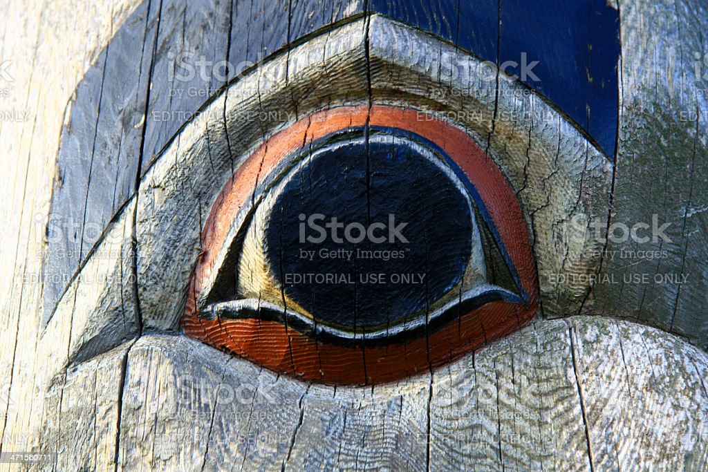 Eye in Victoria royalty-free stock photo