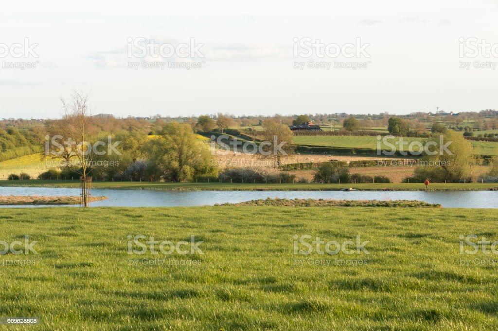 Eye Kettleby Lakes stock photo