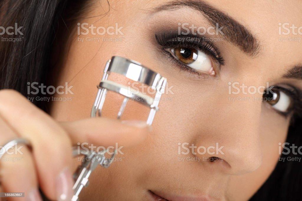 Eye Lash Curler stock photo