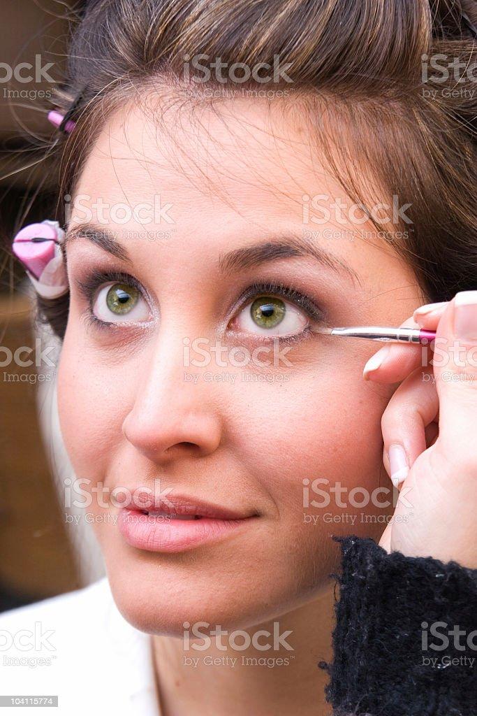 Eye Makeup royalty-free stock photo